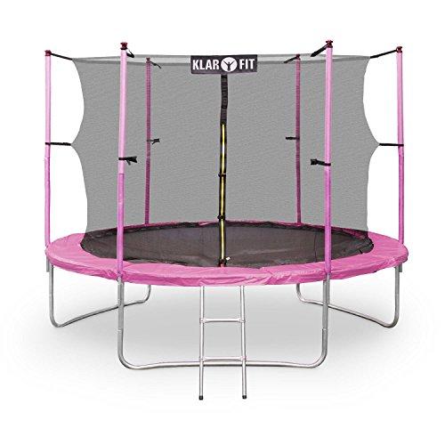 """Klarfit """"Rocketgirl XXL"""" Trampolin 305cm Blau, Grün, Pink,"""