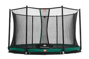 BERG Trampolin InGround Favorit 330 mit Comfort Netz Mod.2015