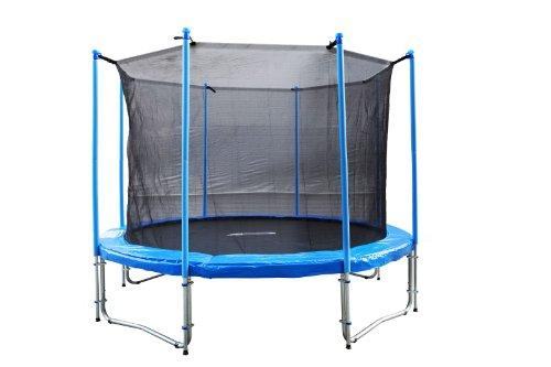 fa sports gartentrampolin mit netz flyjump monster 305 cm trampolin mit netztrampolin mit netz. Black Bedroom Furniture Sets. Home Design Ideas