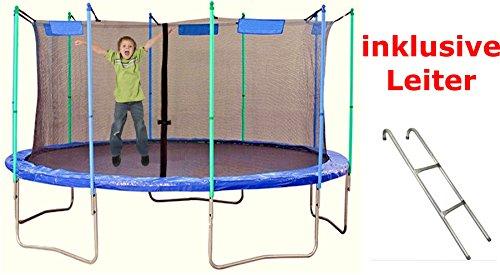 IZZY SPORT Trampolin mit Netz, 426 cm