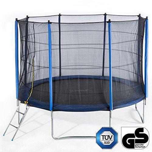 Skandika Outdoor Trampolin 305 cm mit Netz und Leiter